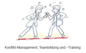 Konflikt-Management; Teambildung und –Training