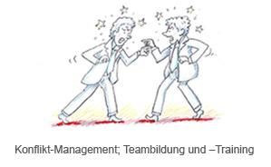 Konflikt-Management; Teambildung und –Training
